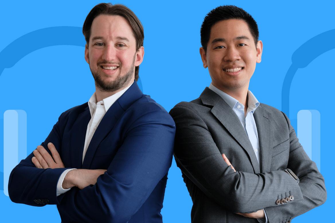 Tony Kümin und Daniel Yu