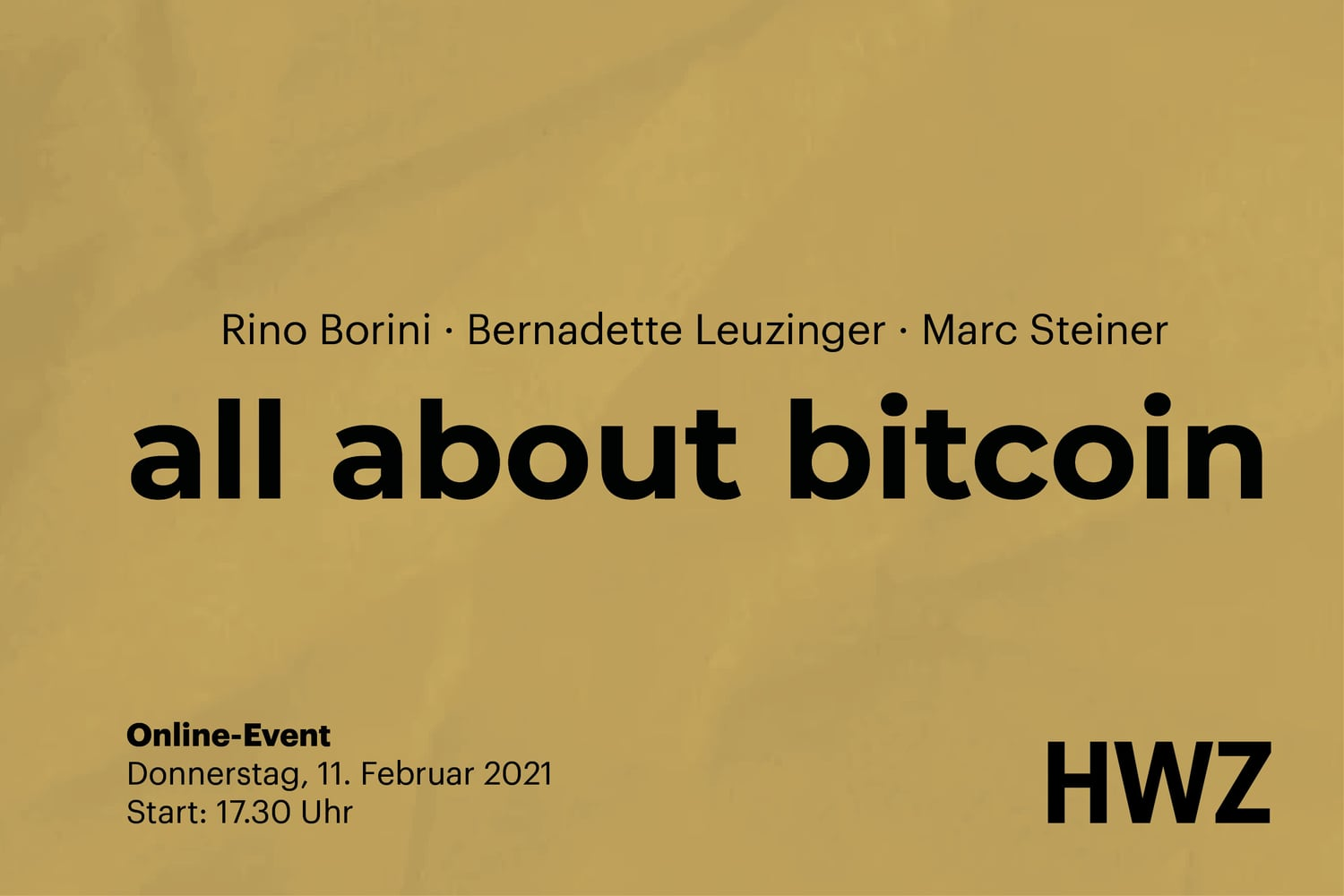 Titelbild all about Bitcoin