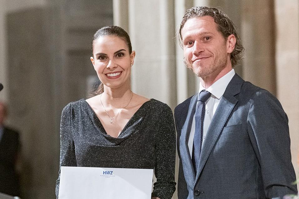 Uebergabe Nachhaltigkeitspreis UBS