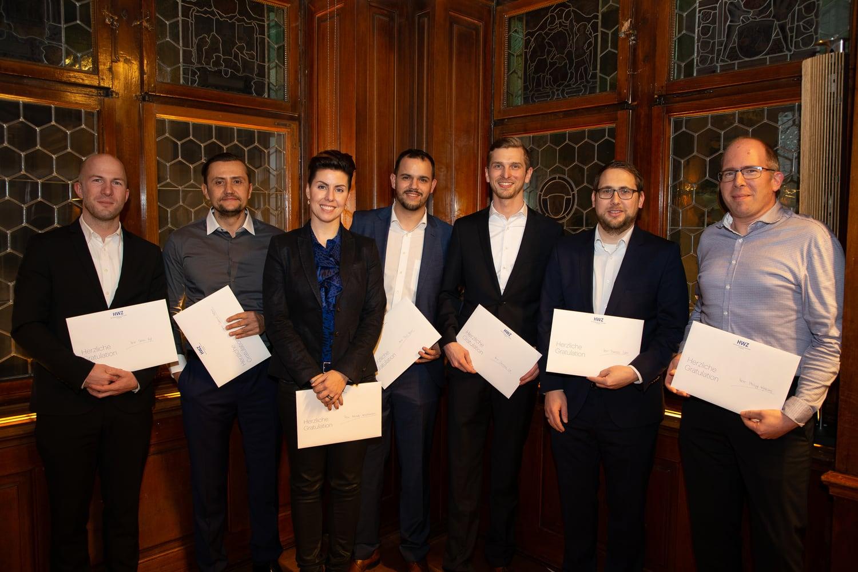 Consulting und Innovation Diplomfeier