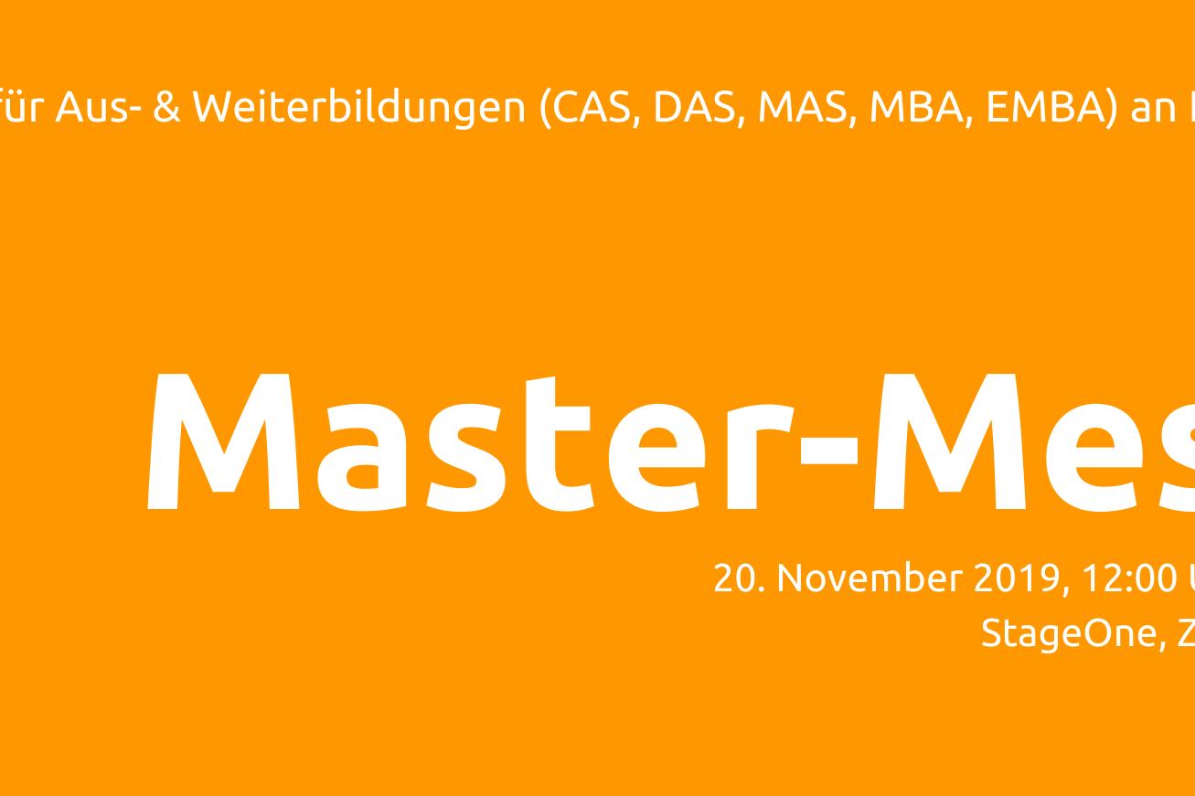 Titelbild Master Messe
