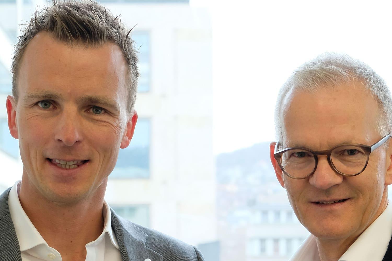 Lennart Hintz und Stefan Vogler