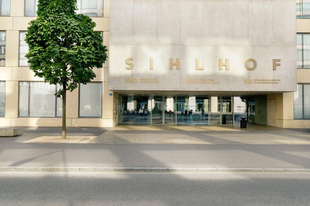 Gebäude HWZ Sihlhof