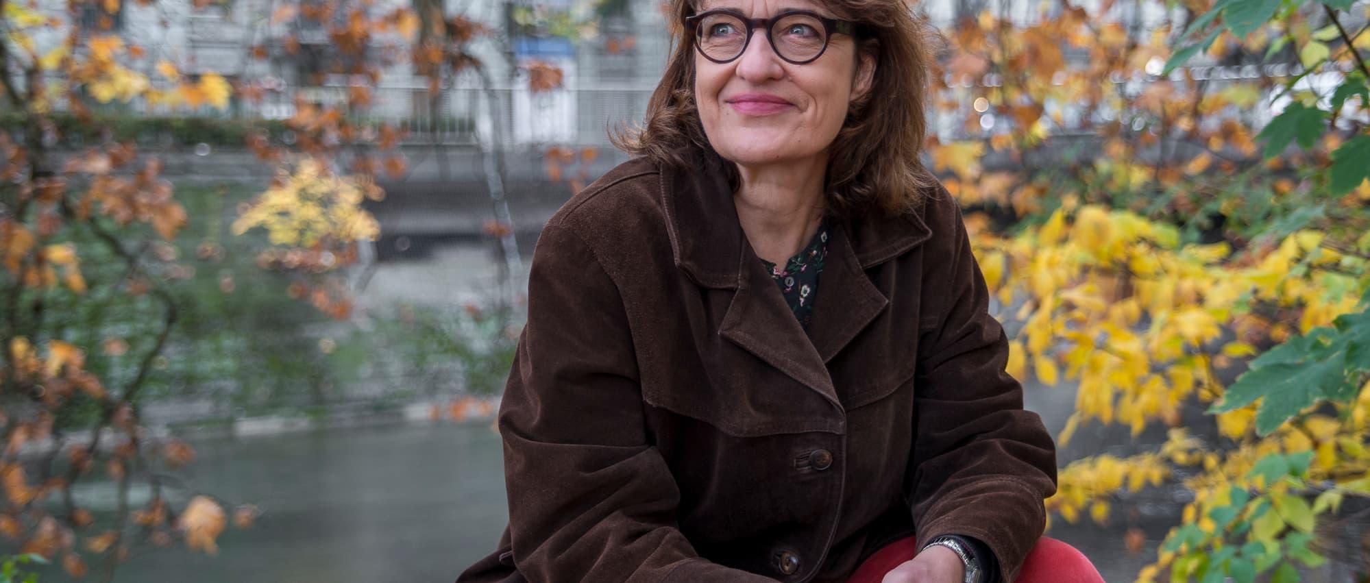 Dr. Christa Uehlinger. Fotografie: Natalie Fasnacht
