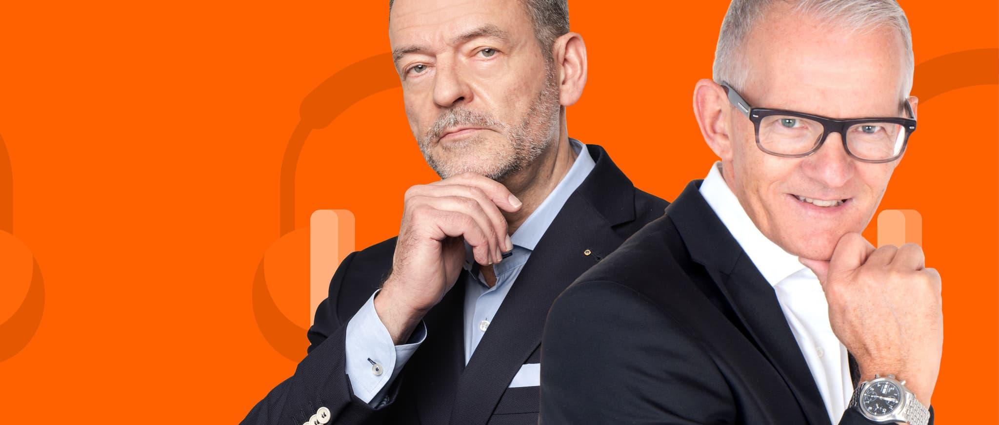 Visual HWZ-on-air Podcast Stefan Eggenberger / Stefan Vogler