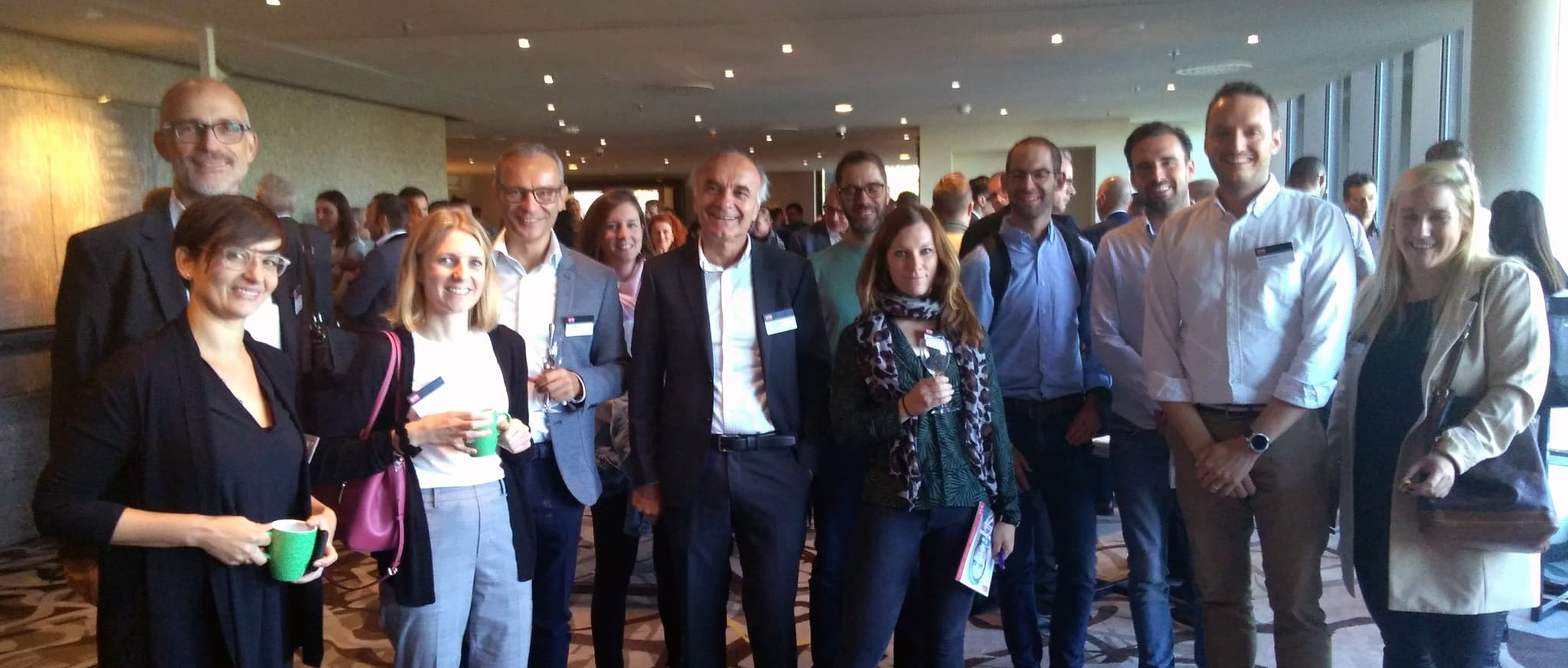 Besuch Swiss CRM Forum CAS Customer Intelligence Gruppenfoto