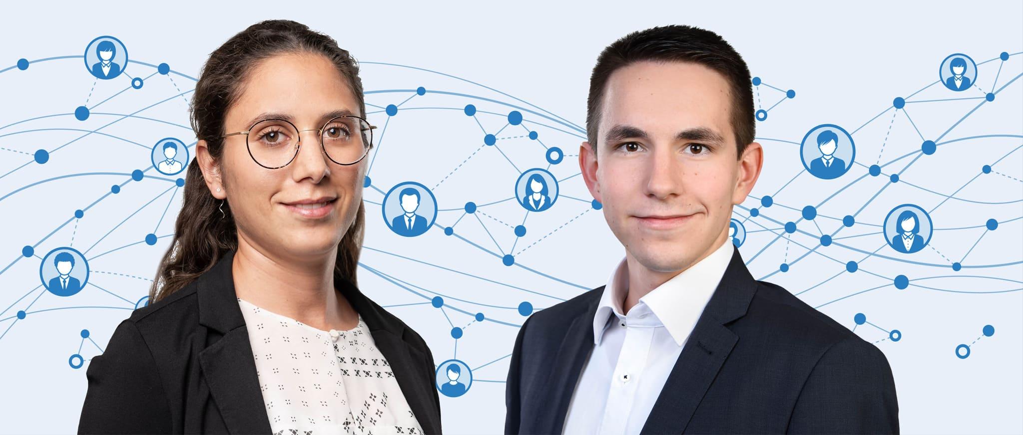 Ramona Mostafa und Silvan Oberholzer