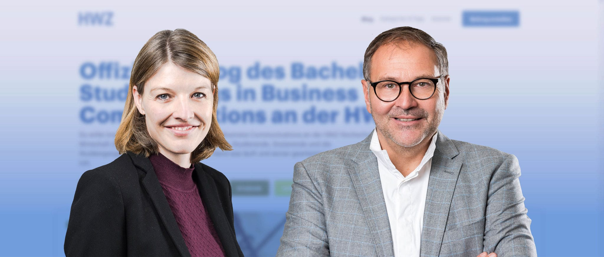 HWZ Studyblog, Petra und Bernhard