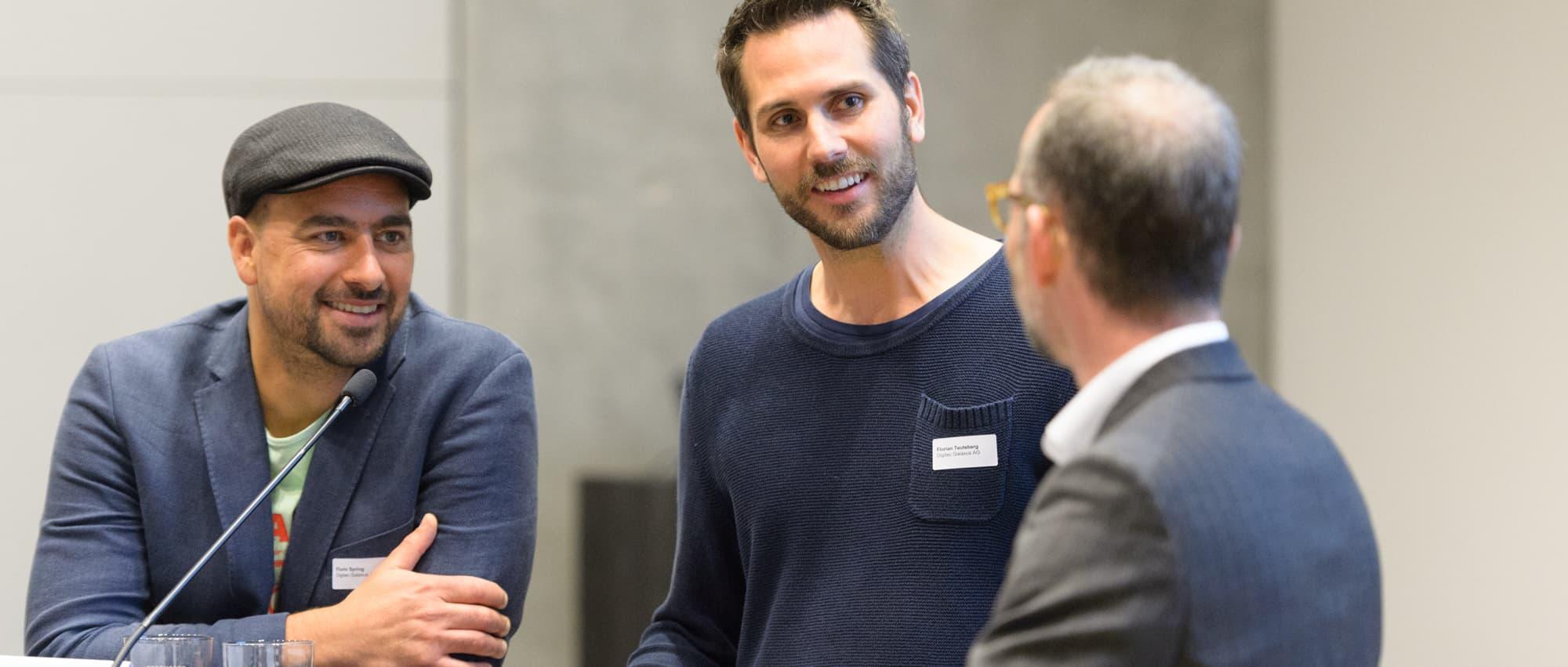 HWZ meets CEO Digitec Galaxus