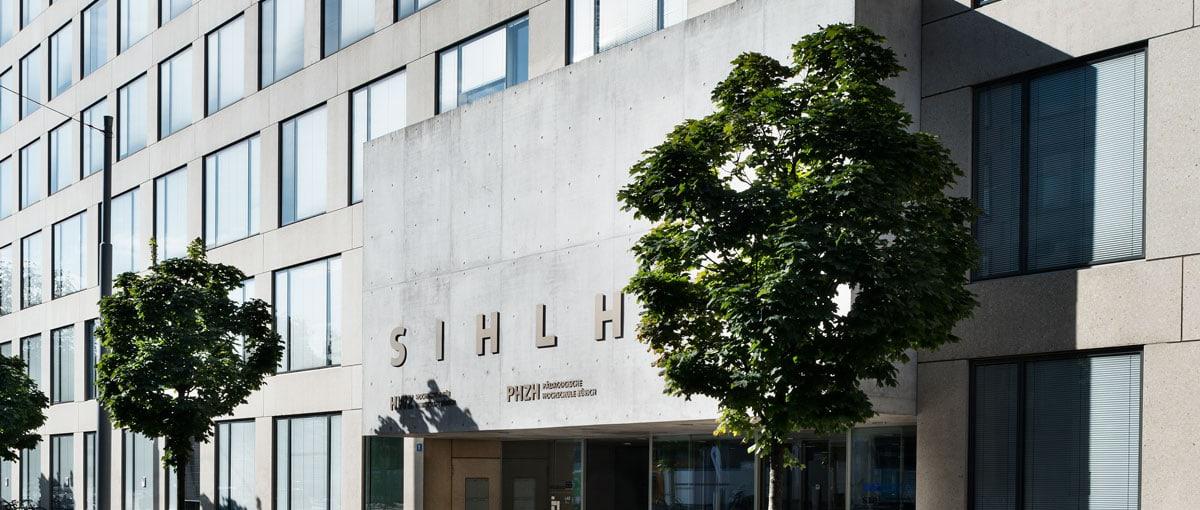 Schmuckbild Gebäude Sihlhof