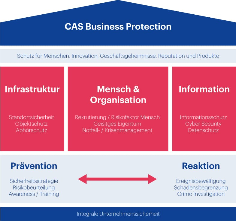 Grafik CAS Business Protection HWZ