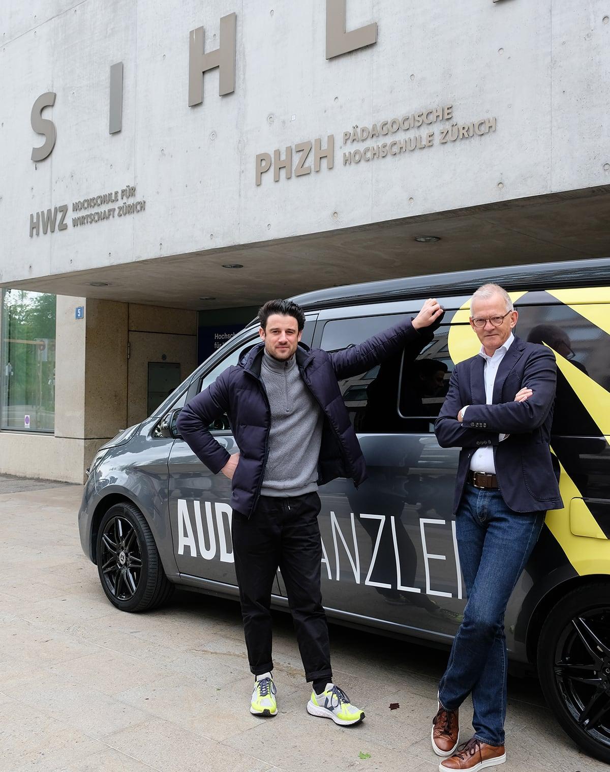 Beitrag podcar - Dino Giglio & Stefan Vogler | HWZ