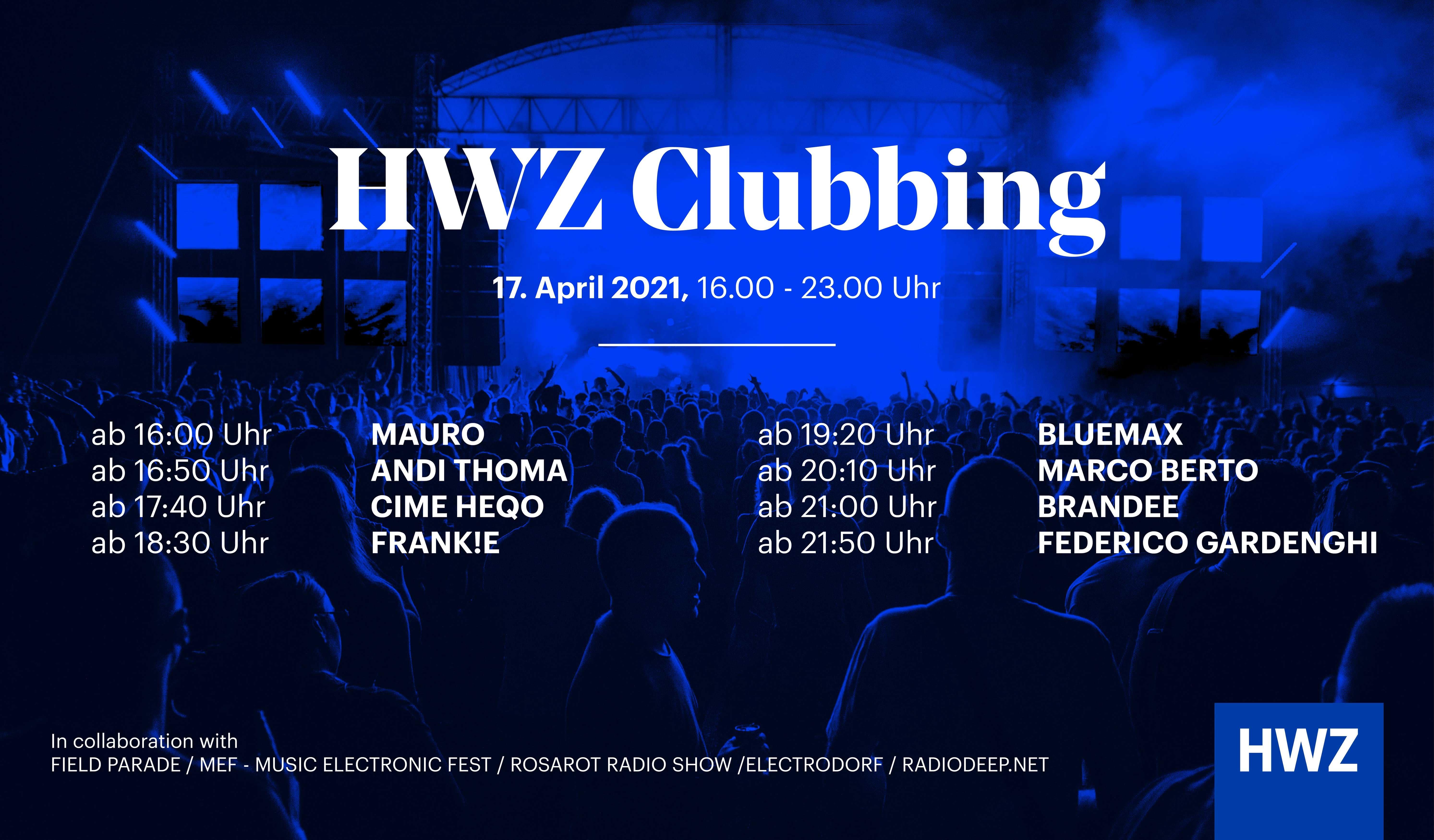 HWZ Clubbing - Timeline DJs