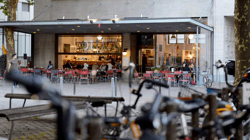 Der Werdmühleplatz neu belebt – dank Lotti