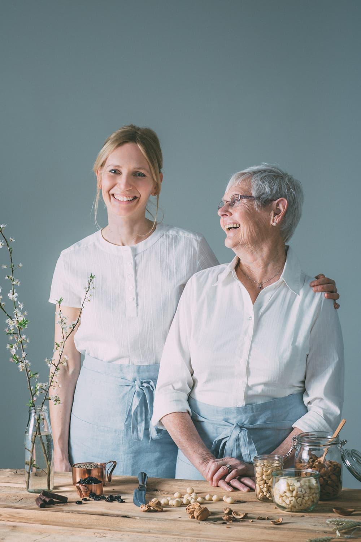 Gründerin Sibylle Jenni und ihr Mami