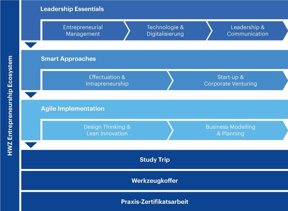 Grafik Aufbau Entrepreneurship Ecosystem