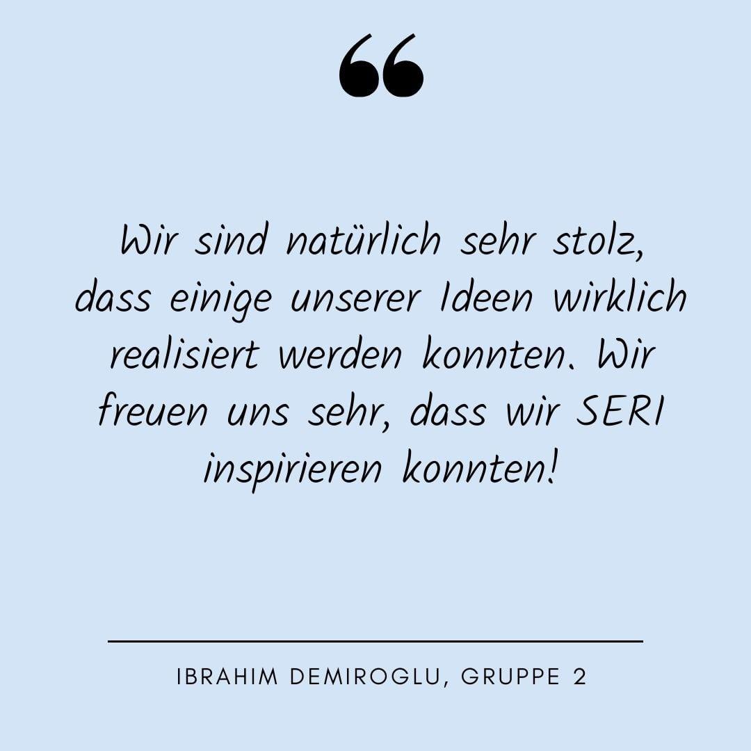 Ibrahim Demiroglu, Quote