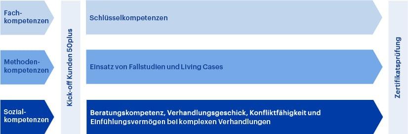 Grafik Aufbau CAS Senior Financial Consultant HWZ