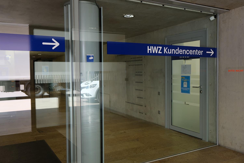 Eingangsbereich HWZ