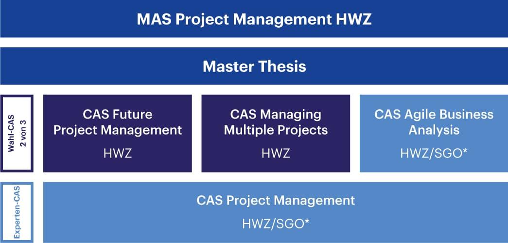 Aufbau MAS Project Management