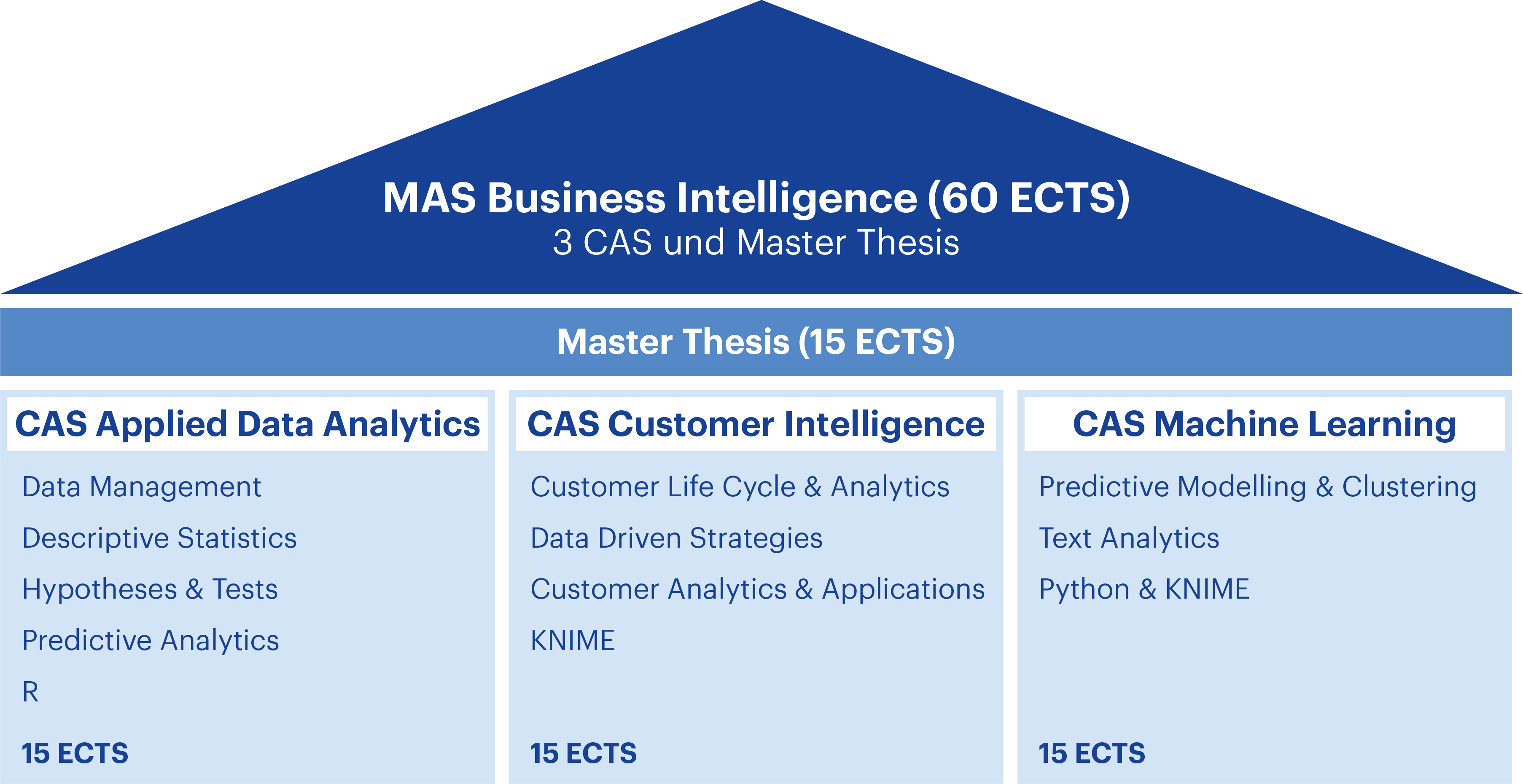 Aufbau MAS Business Intelligence