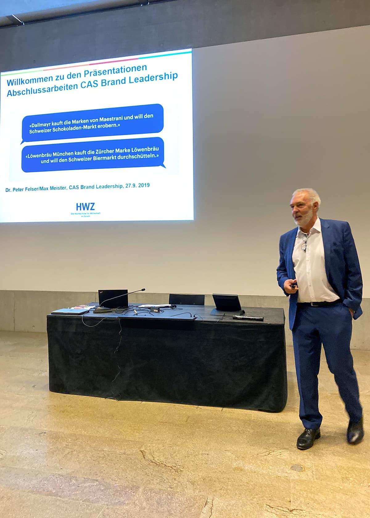 CAS Brand Leadership Präsentation - Peter Felser