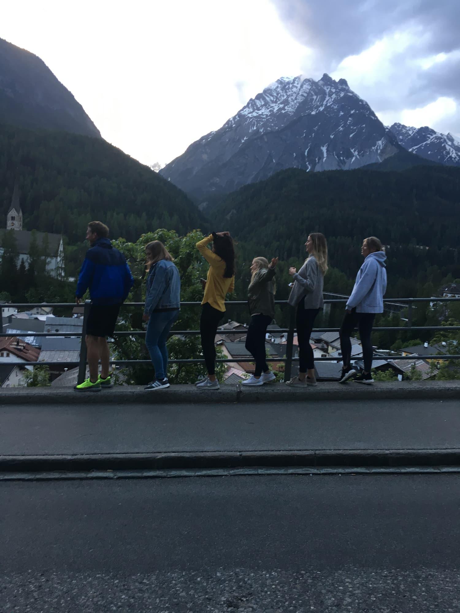 Gruppenausflug Projektmanagementseminar Scuol