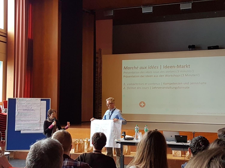 «Sustainable University Day 2018» an der Pädagogischen Hochschule Freiburg