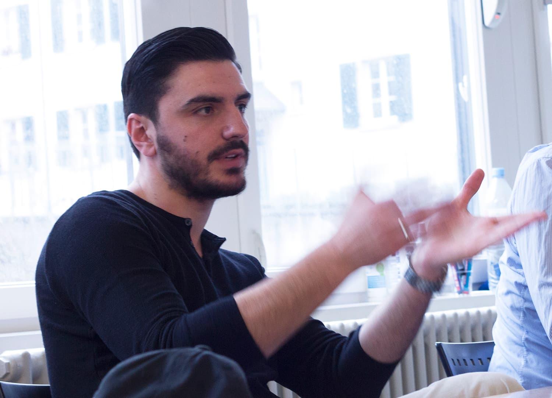 HWZ-Accelerator: Naim Osmani erklärt sein Geschäftsmodell