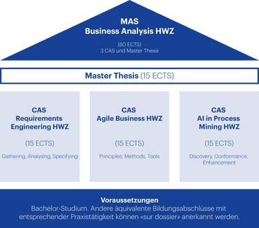 Grafik Aufbau MAS Business Analysis