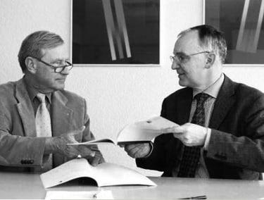 Urs E. Goetz und Cyril Meier, 2003