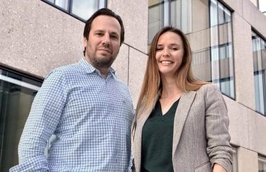 Manuel P. Nappo und Sunnie J. Groeneveld, Studiengangsleitende EMBA Digital Leadership