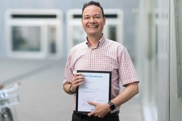 Lars Berger, Best Teacher 2020