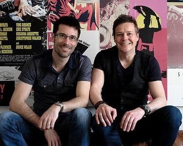Thomas Künzler und Roger Wehrli, Inhaber der auf healthy food spezialisierten Fruver AG und Gründerväter der Marke PEAK PUNK