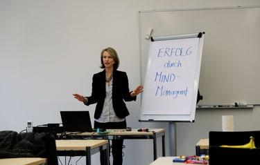 Verena Tschudi, Erfolg durch Mind-Management