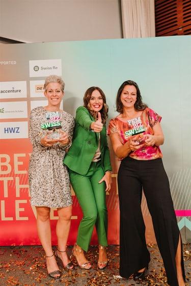 Valérie Vuillerat, FemBizSwiss Award 2020