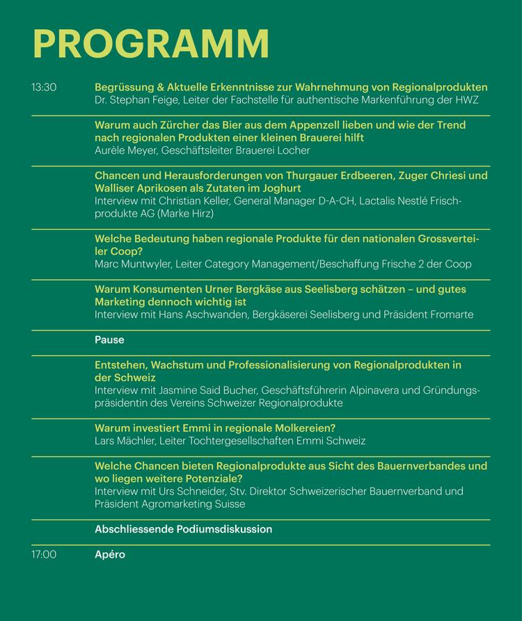 Programm Fachtagung