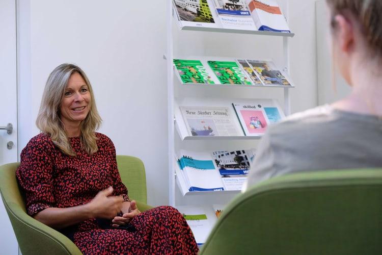 Andrea Hausammann, Career Services