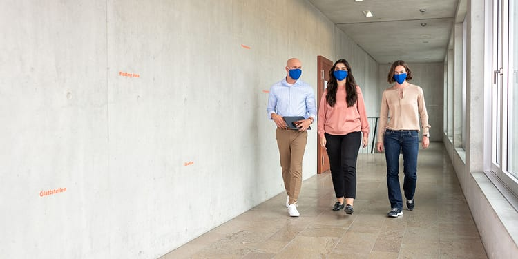HWZ Bildwelt Maske Gang